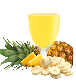 Pineapple and Banana Flavoured Drink Mix